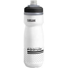 CamelBak Podium Chill Bidon 620ml wit/zwart